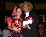 Jose Oviedo y Dayana Herrera - Meta, primer lugar profesionales.