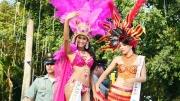 Diez candidatas participan en el Reinado Internacional del Joropo realizado en Arauca en el  marco de sus fiestas patroanales.