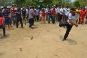 Semana Santa Arauca: Indigenas partiendo zarandas