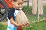 Juegos tradicionales llaneros: Para participar en el trompo más grande y bailador.