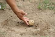 Juegos tradicionales llaneros: Picando troya.